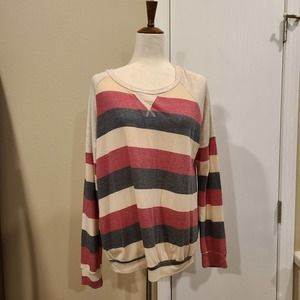 XL Lovely Melody Striped Top